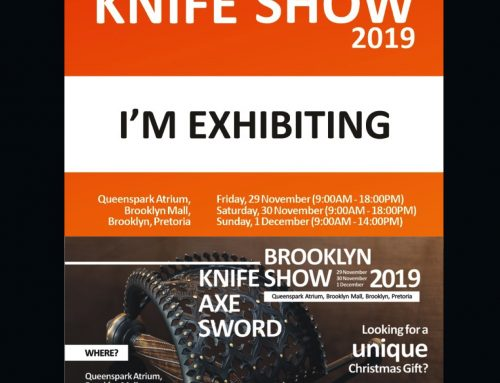 Brooklyn Knife show, 29 November – 1 December 2019